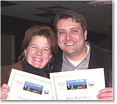 Happy Holiday Flyers - Darrah and Justin