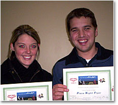 Happy Holiday Flyers - Holly and Fritz