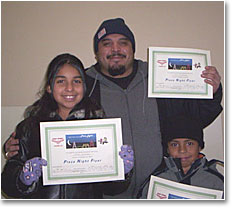 Happy Holiday Flyers - Mandy, Julio, and Julio